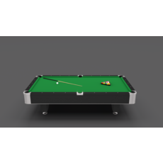 8 Ball Pool Table 3D Model