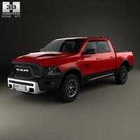 Dodge Ram 1500 Rebel 2015 3D Model