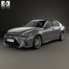 Lexus GS 2015 3D Model