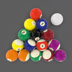 Pool Ball Pack 3D Model