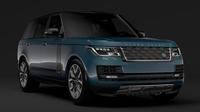 Range Rover SVAutobiographyDynamic LWB L405 2018 3D Model