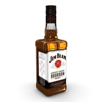 Jim Beam 70cl Bottle 3D Model