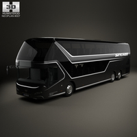 Neoplan Skyliner Bus 2015 3D Model