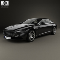 Aston Martin Lagonda 2014 3D Model