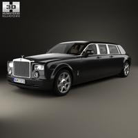 Rolls-Royce Phantom Mutec with HQ interior 2012 3D Model
