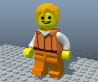 LEGO Man 1.0.0 for Maya