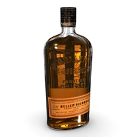 Bulleit Bourbon 75cl Bottle 3D Model