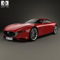 Mazda RX Vision 2015 3D Model