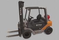 Forklift Still R70-50 3D Model