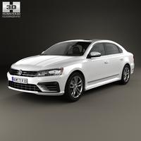 Volkswagen Passat (NMS) R-Line 2016 3D Model