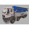 MAN Concrete pump M5 XXT 3D Model
