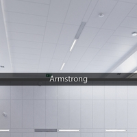 Ceiling system Armstrong 3D Model