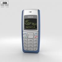 Nokia 1110 Blue 3D Model