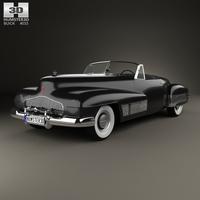 Buick Y-Job 1938 3D Model