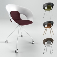 Chair DELI STACK KS-160 3D Model