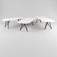 Dining tables 3D Model