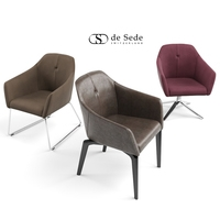 3 de sede Chair model DS-279 3D Model