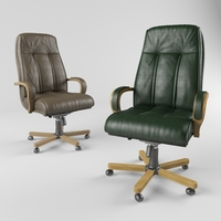 Chair Boss D100 3D Model
