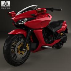 Honda DN-01 2009 3D Model