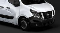 Nissan NV 400 L1H1 Van 2017 3D Model