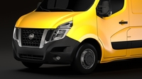 Nissan NV 400 L2H2 Van 2017 3D Model