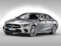 Mercedes Benz CLS Class (2018) 3D Model