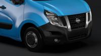 Nissan NV 400 L3H2 Van 2017 3D Model
