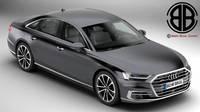 Audi A8 2018 3D Model