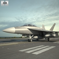 Boeing EA-18G Growler 3D Model