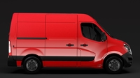 Nissan NV 400 L1H2 Van 2017 3D Model