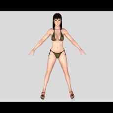 Sexy Bikini Girl 03 3D Model