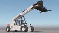 Container Forklift 3D Model