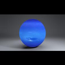 Neptune 2k Globe 3D Model