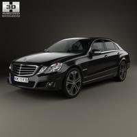 Mercedes-Benz E-Class Brabus 2010 3D Model