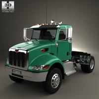 Peterbilt 335 HE Tractor Truck 2008 3D Model