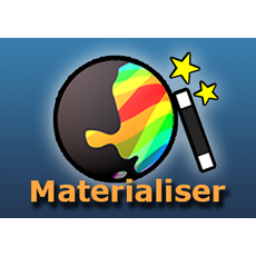 Materialiser 1.0.0 for Maya (maya script)