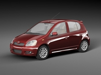 Toyota Vitz 3D Model