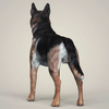 07 07 41 266 realistic german shepherd dog 04 4