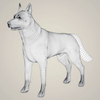 07 07 42 102 realistic german shepherd dog 07 4