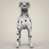 07 13 55 519 realistic dalmation dog 02 4