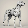 07 13 55 734 realistic dalmation dog 06 4