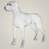 07 36 36 551 realistic hound black dog 07 4
