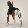07 36 38 174 realistic hound black dog 04 4