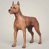 09 03 55 804 realistic miniature pinscher dog 01 4