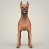 09 03 55 822 realistic miniature pinscher dog 02 4
