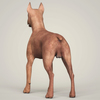 09 03 56 259 realistic miniature pinscher dog 04 4