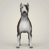 09 08 40 148 realistic bull terrier dog 02 4