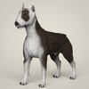 09 08 40 94 realistic bull terrier dog 01 4