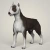 09 08 40 94 realistic bull terrier dog 01 4