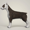 09 08 42 476 realistic bull terrier dog 03 4